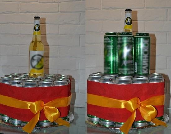 10fd0ede8c354e6d3c5c513ff633b2b7 Фото торт из банок пива – Торт из банок пива своими руками. Как сделать торт из пива для мужчины — фото пошагово