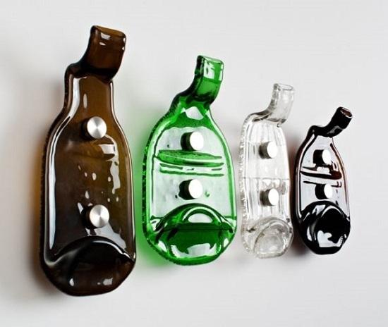 сделать своими руками из стеклянных бутылок