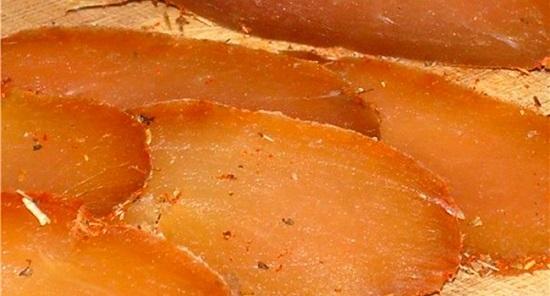 калорийность карпаччо из куриной грудки