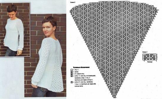 Женские креативные пуловеры для беременных