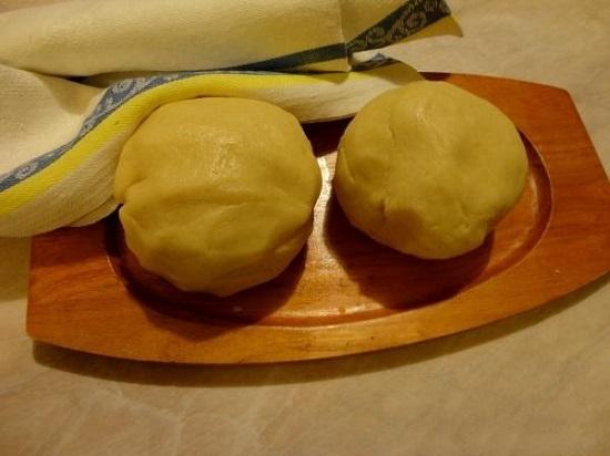 песочное тесто для курника на маргарине