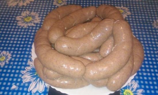 простой и экономный рецепт ливерной колбасы