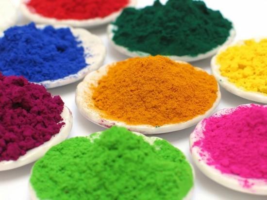 как покрасить манку пищевыми красителями