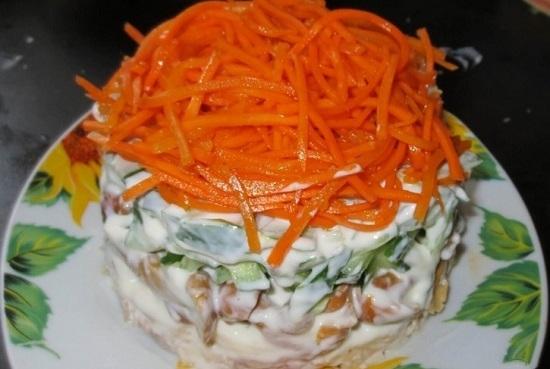 распределяем корейскую морковь
