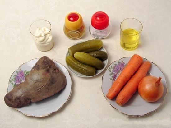 Подготовим нужные нам продукты