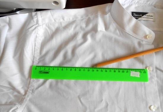 блузка из рубашки