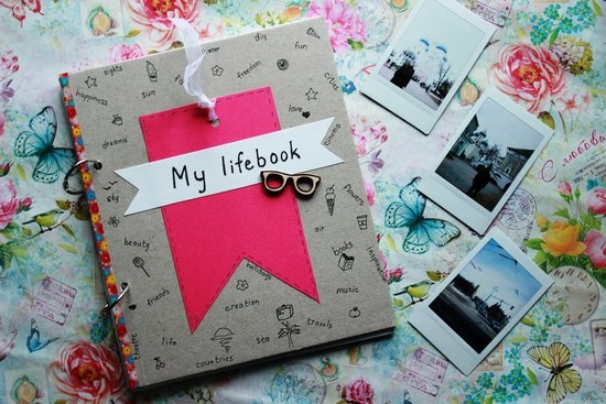 Как оформить обложку личного дневника своими руками