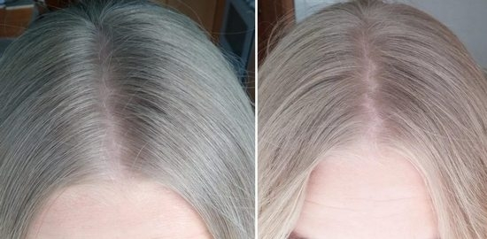 перекись водорода для волос результат