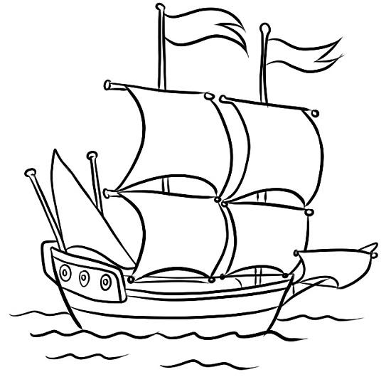 Нарисованный флаг карандашом поэтапно для начинающих172