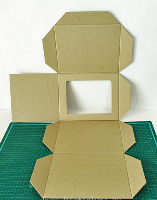 Как сделать полу коробку