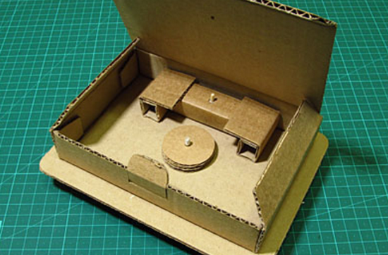Как сделать сейф из бумаги