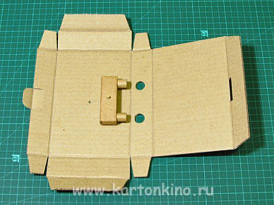 как сделать сейф из картона своими руками