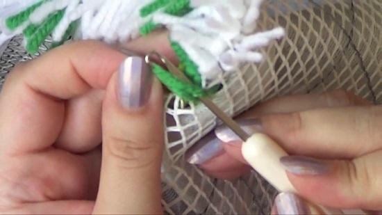 Ковровая вышивка иглой для начинающих
