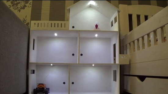 Кукольный домик своими руками из фанеры