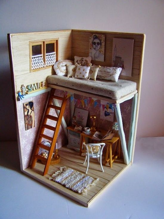Кукольный домик с двумя стенами своими руками из фанеры