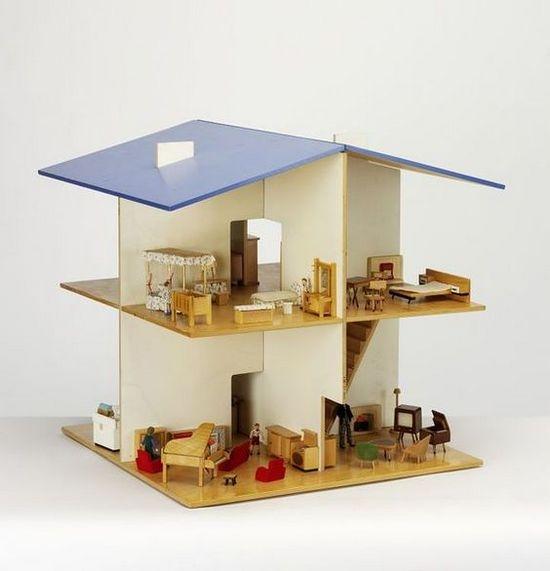 Кукольный домик без стен своими руками из фанеры