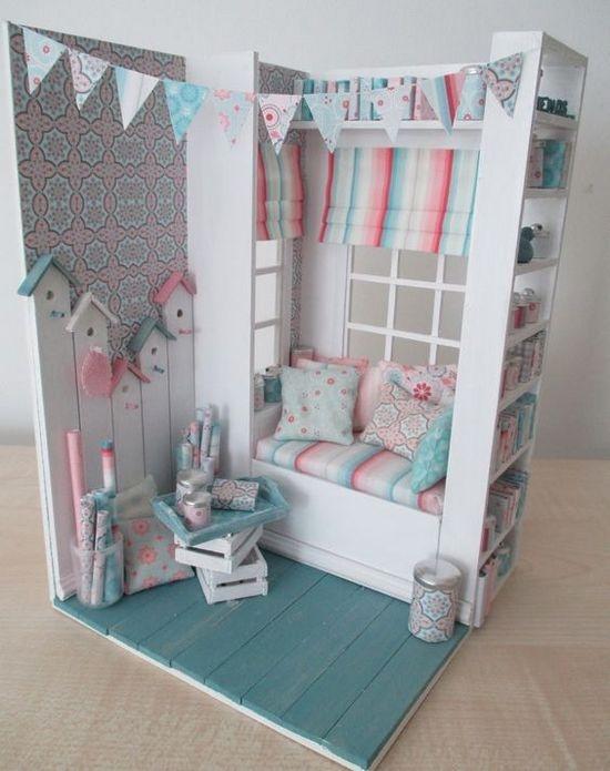 Кукольный домик в стиле кантри своими руками из фанеры