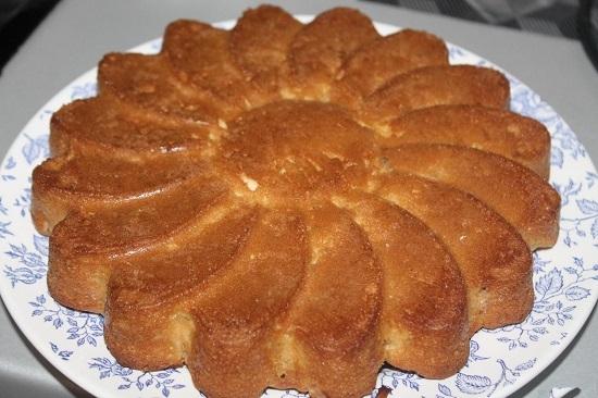 Сметанное бисквитное тесто