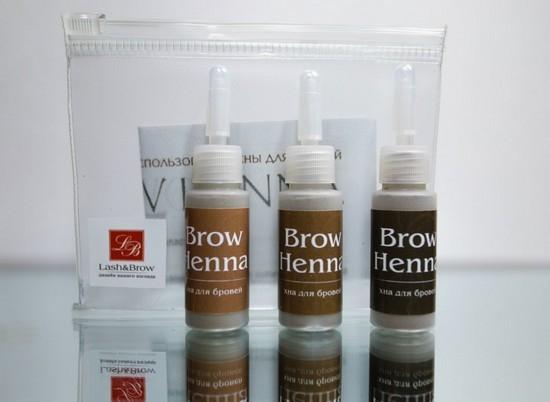 Что такое хна для бровей Brow Henna