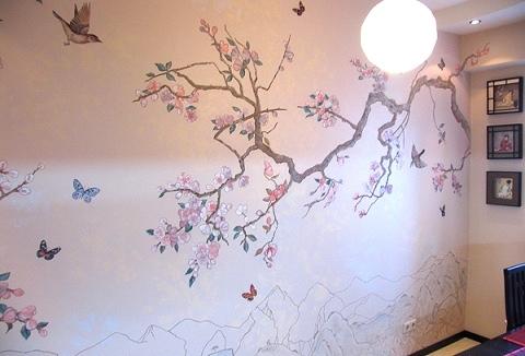 В японском стиле и светильники в
