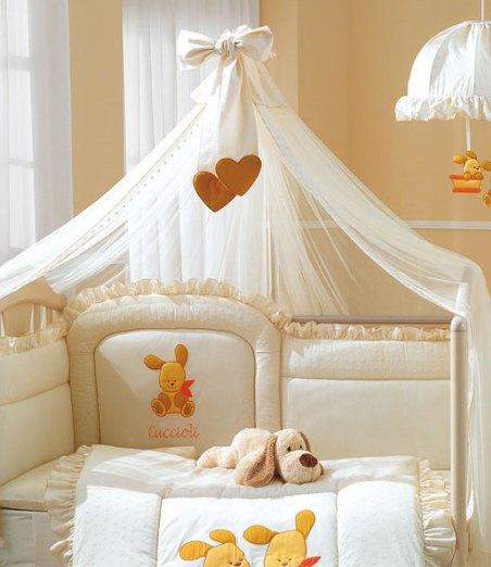 Балдахины над детской кроватью своими руками