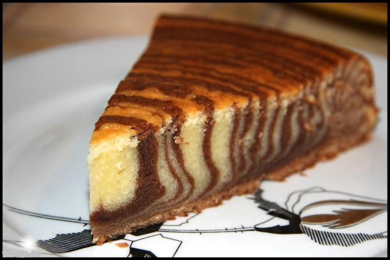 Мраморный пирог рецепт с фото пошагово представлены