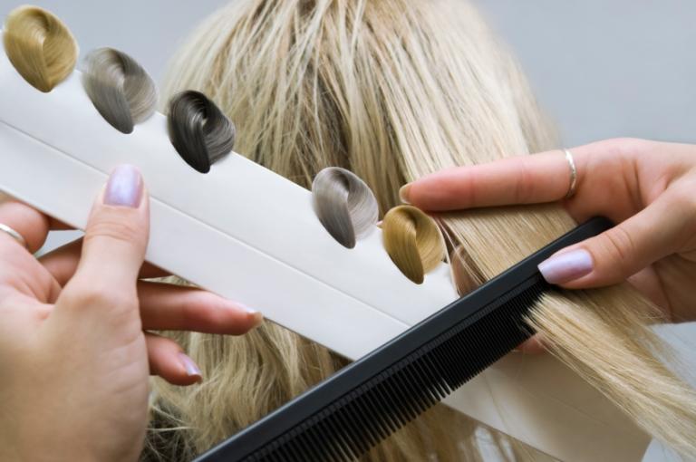 Покрашенные волосы венеры - ca13e