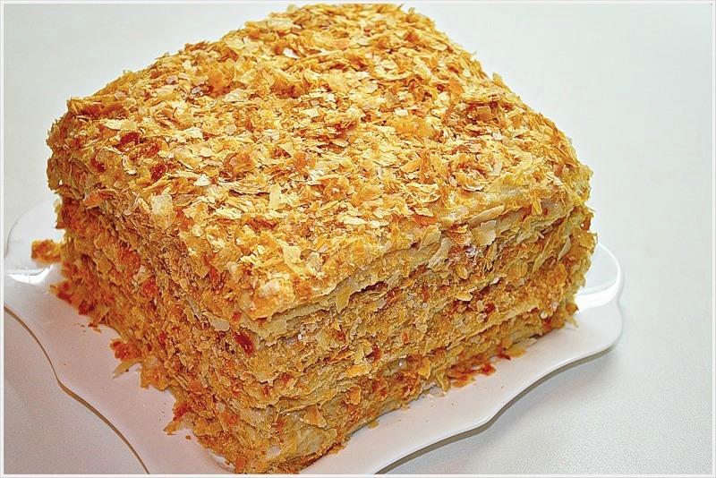 Торт наполеон рецепт с заварным