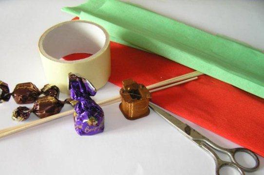 Приготовления конфет из сухого молока