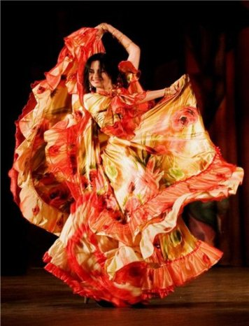 Как просто сшить цыганскую юбку
