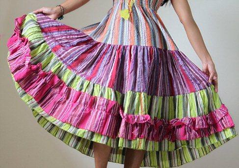 Подъюбник для юбки на резинке