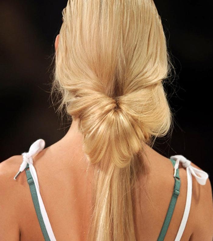 Как сделать красивый хвост Все о волосах 38