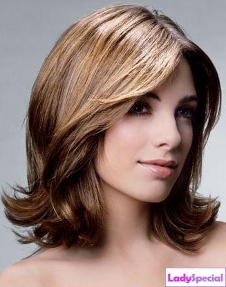 Волосами средней длины считаются