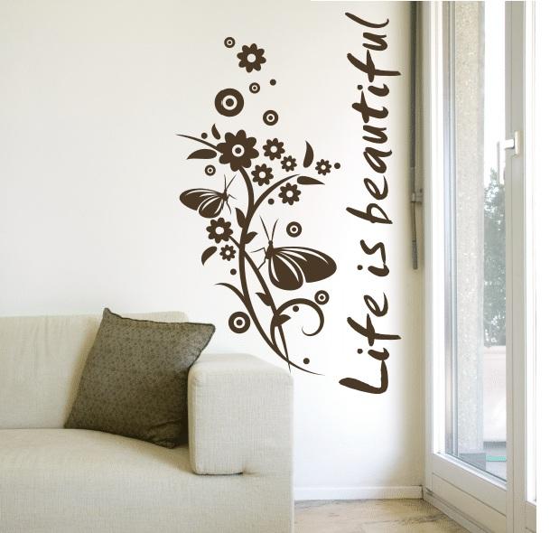 Рисунки для стен в доме своими руками