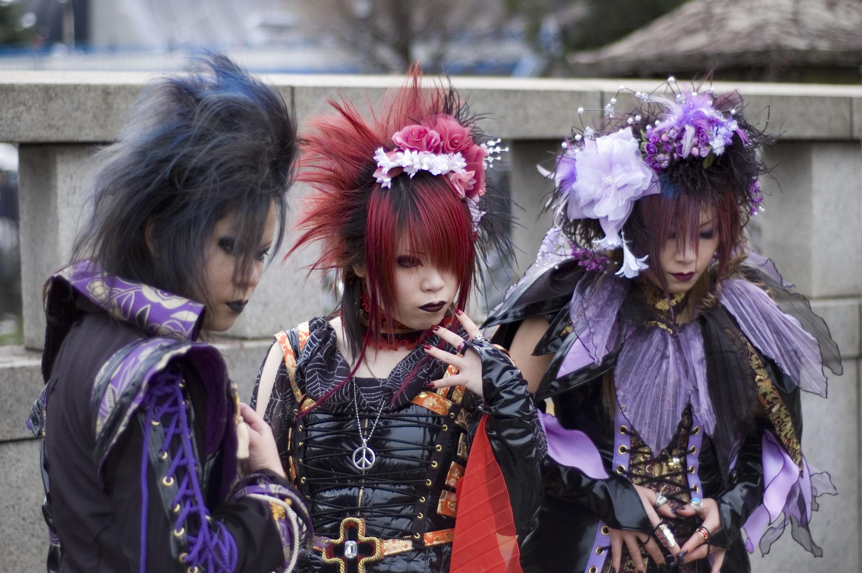 Японский стиль одежды современные